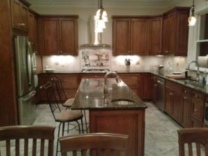 Full Kitchen remodel by upgradecabinets.com